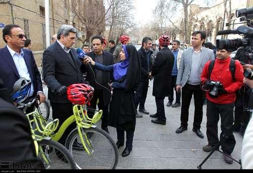 دوچرخه سواری شهرداران کلانشهرهای ایران (عکس) - 12