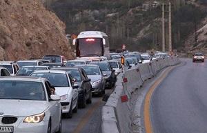 ترافیک سنگین در هراز، فیروزکوه و کرج  چالوس - 0