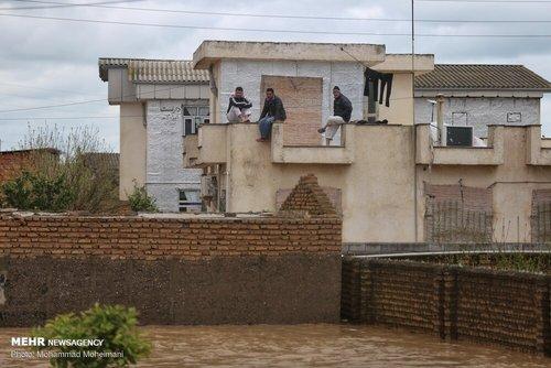 سیلاب در روستاهای استان گلستان (عکس) - 10