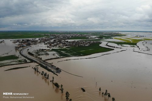 سیلاب در روستاهای استان گلستان (عکس) - 0