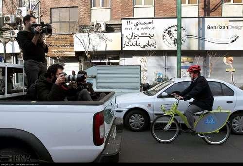دوچرخه سواری شهرداران کلانشهرهای ایران (عکس) - 3