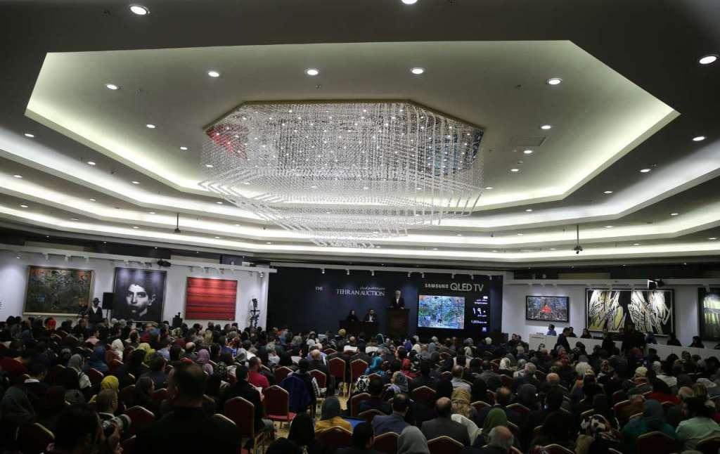 حراج هنری تهران با بیش از ۳۴۰ میلیارد ریال فروش پایان یافت - 0