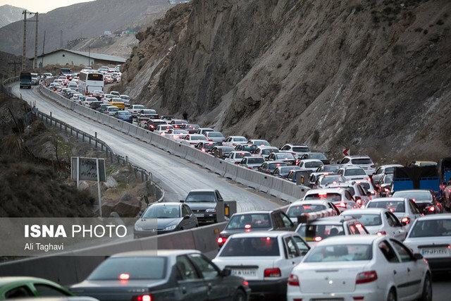 ترافیک سنگین جادههای منتهی به شمال - 0