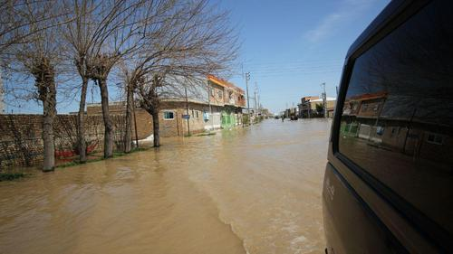 گزارش تصویری اختصاصی عصر ایران از مناطق سیلزده آققلا و روستاهای اطراف - 45