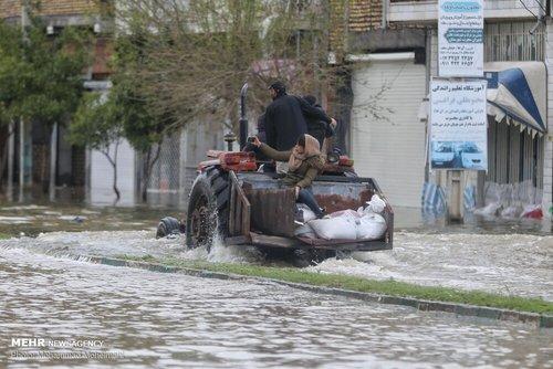 سیلاب در روستاهای استان گلستان (عکس) - 16