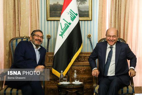 عکسهایی از دیدارهای رئیس جمهور عراق در تهران - 6