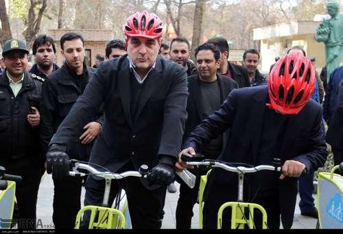 دوچرخه سواری شهرداران کلانشهرهای ایران (عکس) - 10