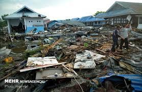 شمار قربانیان زلزله و سونامی اندونزی به ۱۲۰۳ نفر رسید - 0
