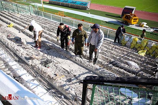 آماده سازی ورزشگاه آزادی برای دیدار فینال آسیا - 10