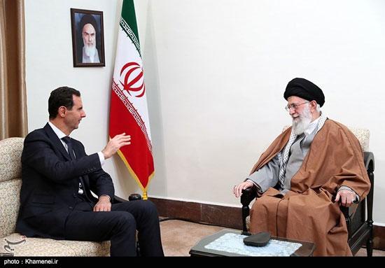 دیدار رئیسجمهوری سوریه با مقام معظم رهبری - 4