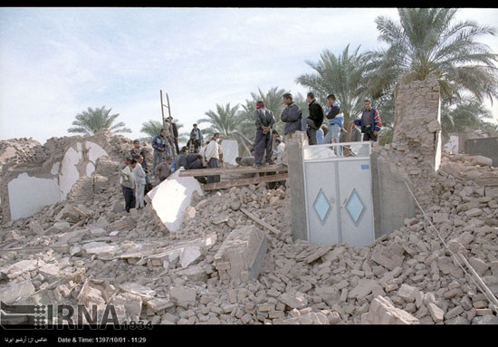 ۵ دی ۱۳۸۲، وقتی زلزله بم را زیر و رو کرد - 15