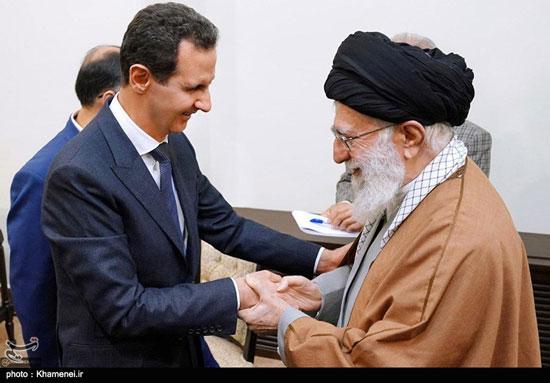دیدار رئیسجمهوری سوریه با مقام معظم رهبری - 3