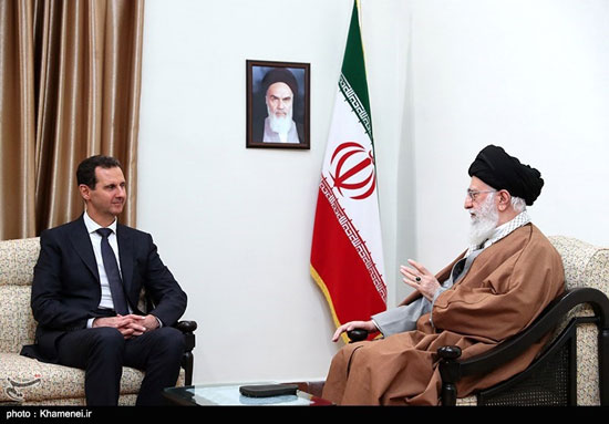 دیدار رئیسجمهوری سوریه با مقام معظم رهبری - 11