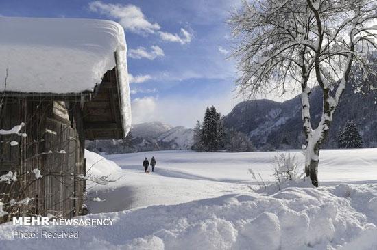 برف سنگین در آسیا، اروپا و روسیه - 14
