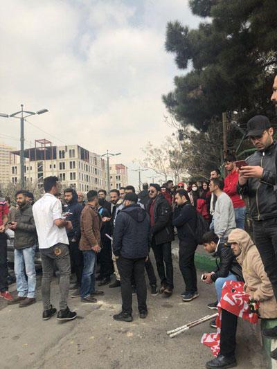 تجمع هواداران پرسپولیس مقابل وزارت ورزش - 5