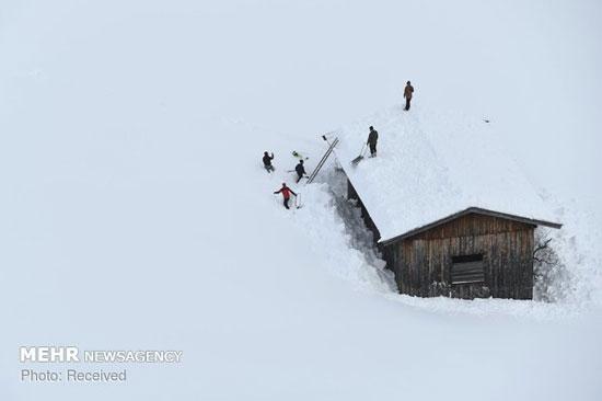 برف سنگین در آسیا، اروپا و روسیه - 15