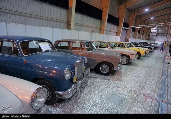 نمایشگاه خودروهای کلاسیک و مدرن در اصفهان - 3