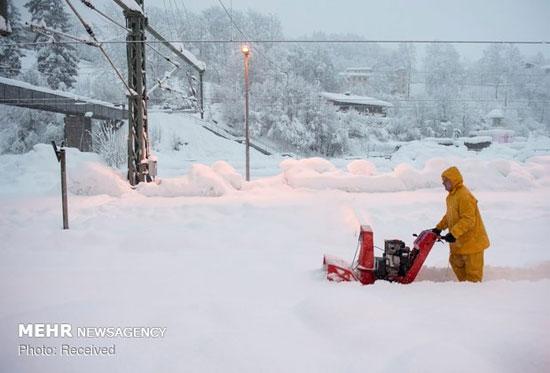 برف سنگین در آسیا، اروپا و روسیه - 7
