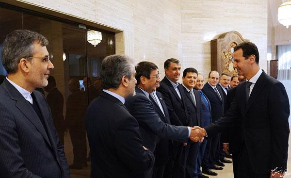 رایزنی جهانگیری با بشار اسد در دمشق - 1