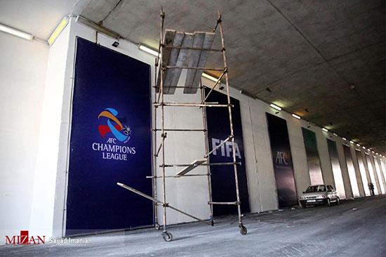 آماده سازی ورزشگاه آزادی برای دیدار فینال آسیا - 13
