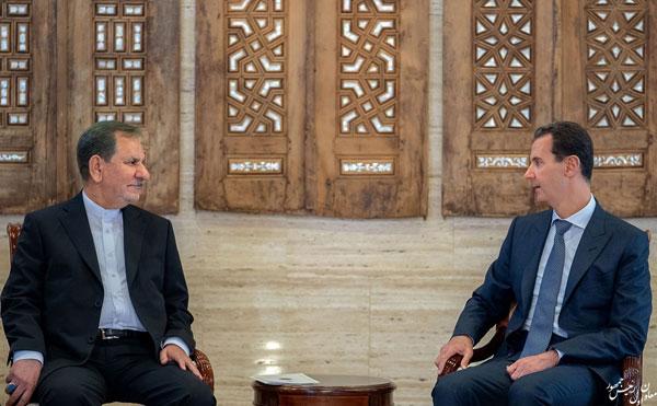 رایزنی جهانگیری با بشار اسد در دمشق - 3