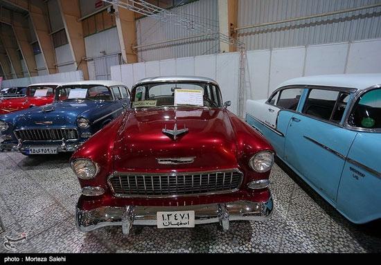 نمایشگاه خودروهای کلاسیک و مدرن در اصفهان - 13