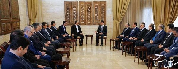 رایزنی جهانگیری با بشار اسد در دمشق - 5