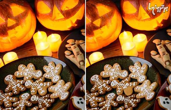 میتوانید تفاوتهای هالووینی زیر را پیدا کنید؟ - 5
