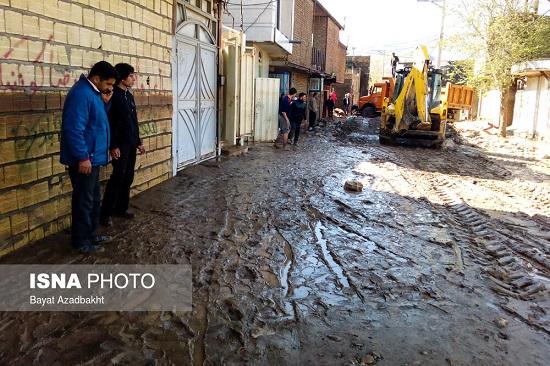 شهر معمولان یکروز پس از کاهش سیلاب - 16
