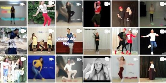 فراگیر شدن رقص مائده بین دختران اینستاگرامی - 1