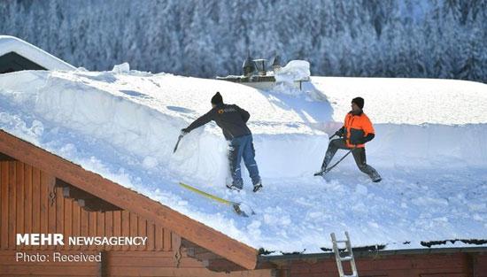 برف سنگین در آسیا، اروپا و روسیه - 3