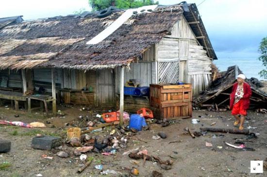 بلایی که سونامی مرگبار سر مردم اندونزی آورد - 6