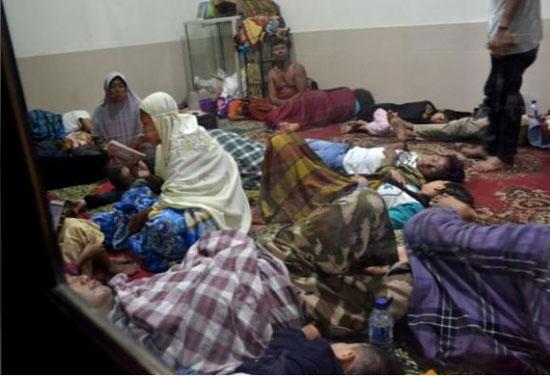 بلایی که سونامی مرگبار سر مردم اندونزی آورد - 10