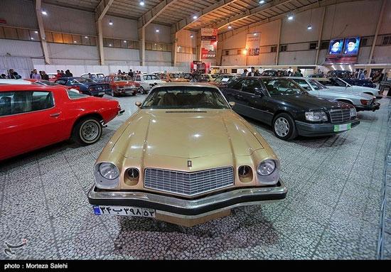 نمایشگاه خودروهای کلاسیک و مدرن در اصفهان - 11