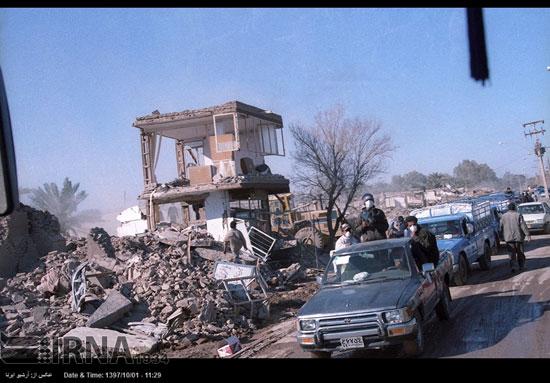 ۵ دی ۱۳۸۲، وقتی زلزله بم را زیر و رو کرد - 6