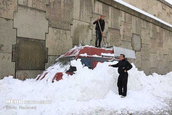 برف سنگین در آسیا، اروپا و روسیه - 8