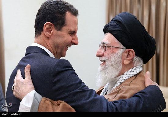 دیدار رئیسجمهوری سوریه با مقام معظم رهبری - 1