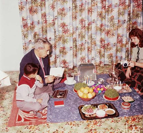 خاطره بازی؛ ۵۰ سال قبل، نوروز در تهران - 1