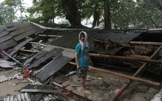 بلایی که سونامی مرگبار سر مردم اندونزی آورد - 7