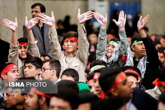 دیدار دانشآموزان و دانشجویان با رهبر انقلاب - 5