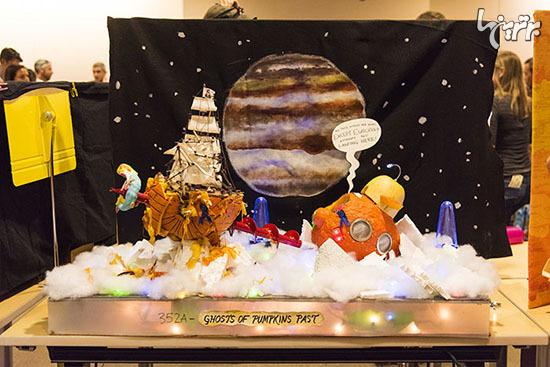 وقتی مهندسان ناسا، کدوی هالووین درست می کنند! - 15