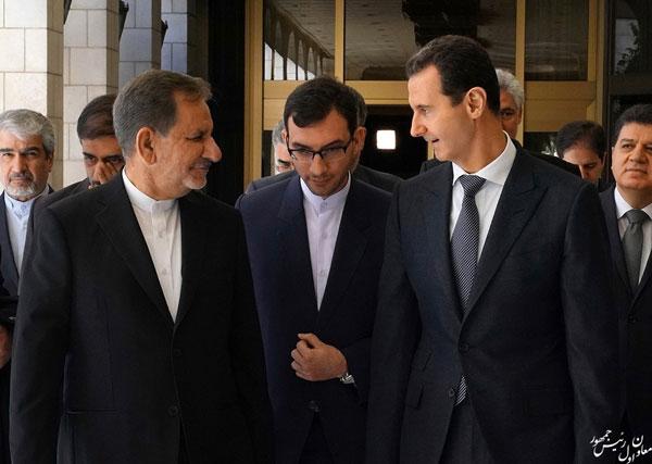 رایزنی جهانگیری با بشار اسد در دمشق - 6