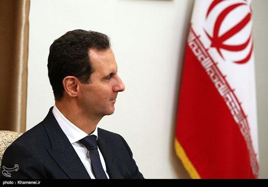 دیدار رئیسجمهوری سوریه با مقام معظم رهبری - 7
