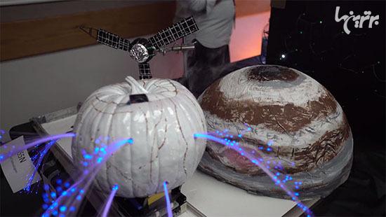 وقتی مهندسان ناسا، کدوی هالووین درست می کنند! - 17