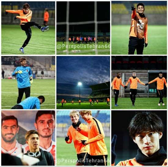 تمرین تیم کاشیما آنتلرز در ورزشگاه شهید کاظمی - 2