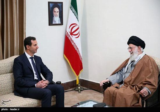 دیدار رئیسجمهوری سوریه با مقام معظم رهبری - 5