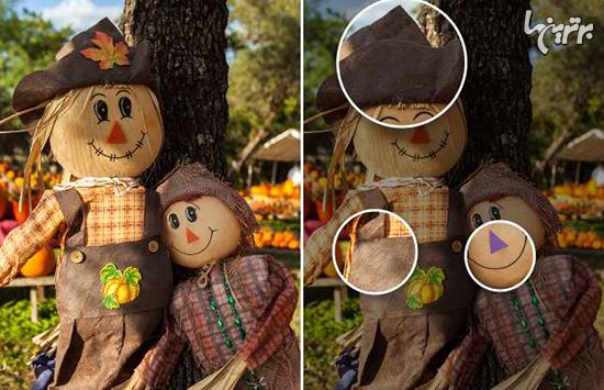 میتوانید تفاوتهای هالووینی زیر را پیدا کنید؟ - 11