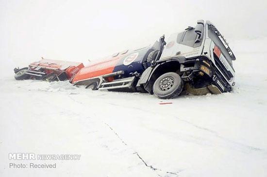 برف سنگین در آسیا، اروپا و روسیه - 5