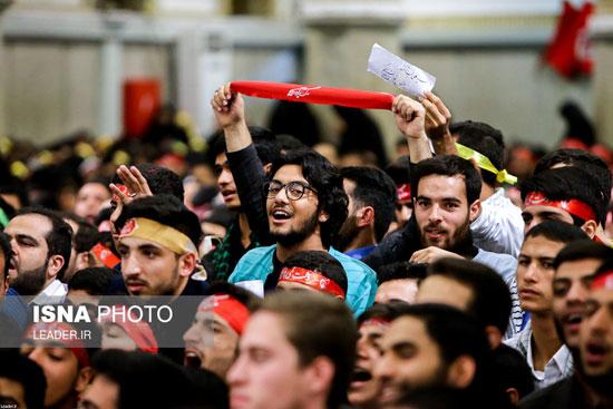 دیدار دانشآموزان و دانشجویان با رهبر انقلاب - 4