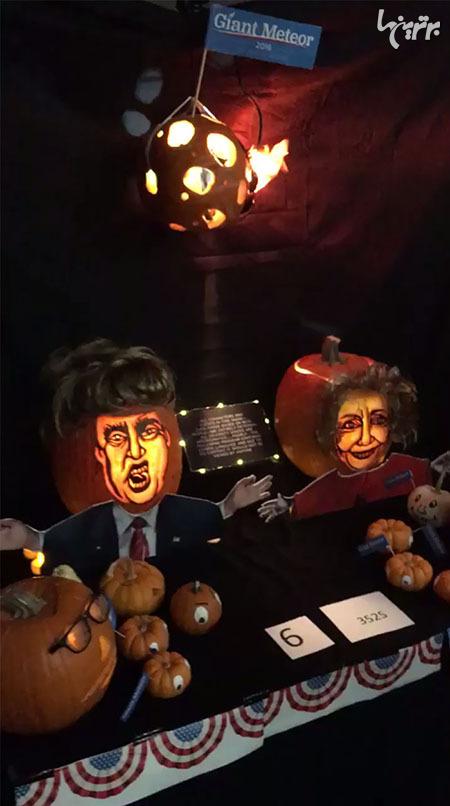 وقتی مهندسان ناسا، کدوی هالووین درست می کنند! - 9